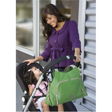 JJ Cole Collections Theory Diaper Bag, Green