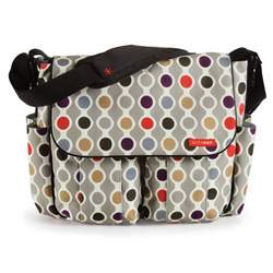 Skip Hop Dash Deluxe Diaper Bag, Wave Dot