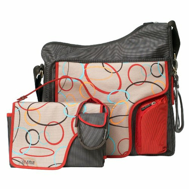 JJ Cole Collections System Diaper Bag, Cocoa Oval