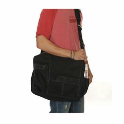 Diaper Dude Messenger II Diaper Bag, Black