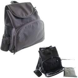 Luvable Friends Back Pack N Go Diaper Bag - Black