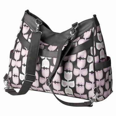 Petunia Picklebottom Clever Carryall Diaper Bag Tulip