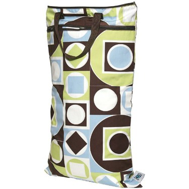 Planet Wise Hanging Diaper Wet/Dry Bag - Geometric Studio