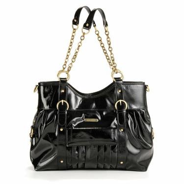 timi & leslie CJ Satchel II Diaper Bag, Black