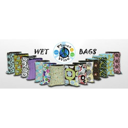 Planet Wise Diaper Wet Bag - Medium (Outer Space)