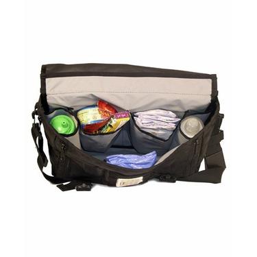 DadGear Courier Stripe Diaper Bag - Green