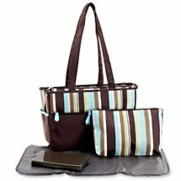 Nicolas Brown Diaper Tote Bag