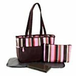 Nicolas Brown Diaper Tote Bag