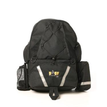 Baby Sherpa Diaper Backpack - Black