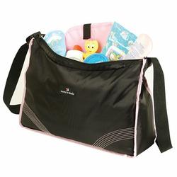 Mumz 'n' Dadz Sport Hobo Diaper Bag, Black