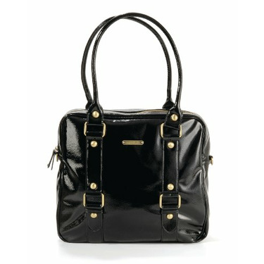 timi & leslie Baby Jane Diaper Bag, Black