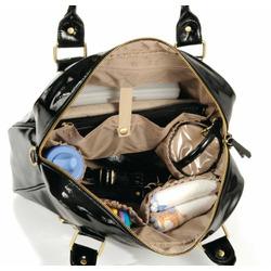 timi & leslie Baby Jane Diaper Bag, Black