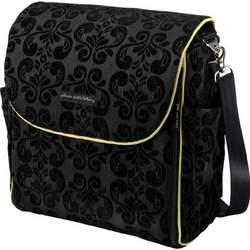 Petunia Pickle Bottom Boxy Diaper Bag Black Currant