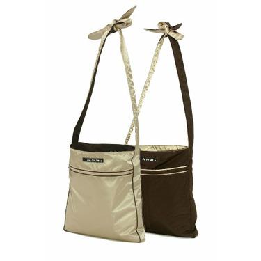 Ju Ju Be Be Light Diaper Bag, Brown/Champagne