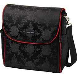 Petunia Pickle Bottom Black Orchid Boxy Backpack
