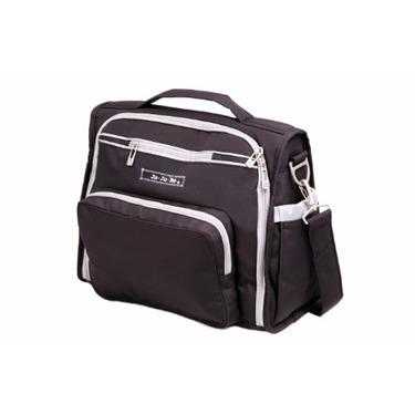 Ju Ju Be Bff Diaper Bag, Black/Silver