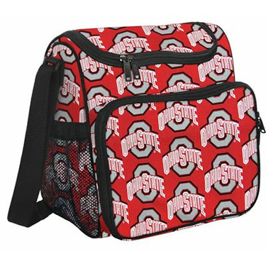 OSU Ohio State Buckeyes Diaper Bag Designer Baby Bags, Shower Gifts for NEW MOM or DAD or Man Men, Woman Women Ladies Alumni