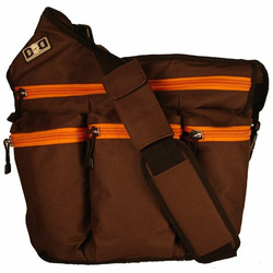 Dude Diaper Bag - Brown