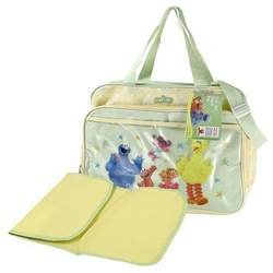 Sesame Street Baby Bag - Elmo and Friends Diaper Bag