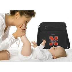University of Nebraska Huskers Logo College Logo Diaper Bag - Baby Bag - BEST Baby Shower GIFT for New Dad, Father or New Mom Mother GIFTS