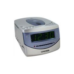 KS7322-2- Dual Alarm AM/FM Stereo Clock Radio With Compact Disc Player