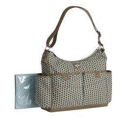 Carter's Honeycomb Print Hobo Bag