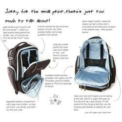 Ju Ju Be - Be Right Back Diaper Bag in Brown Bubblegum