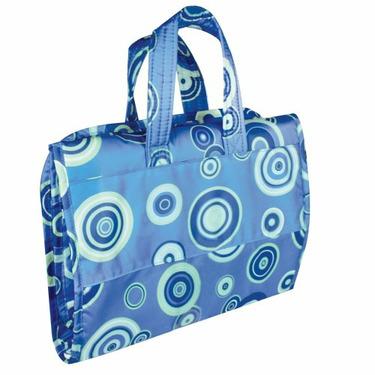 Bumkins Hanging Travel Bag, Blue Fizz