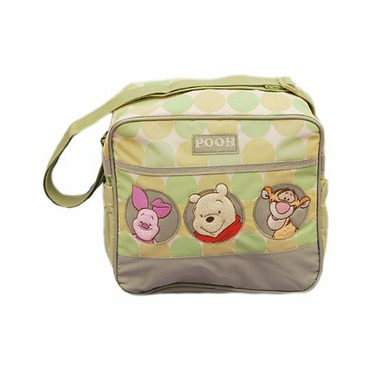"""Winnie the Pooh """"Pooh Circles"""" Small Diaper Bag - colors as shown, one size"""