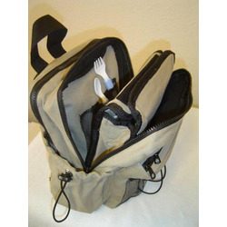 Baby Pak, Mini Baby Diaper Backpack with Cooler