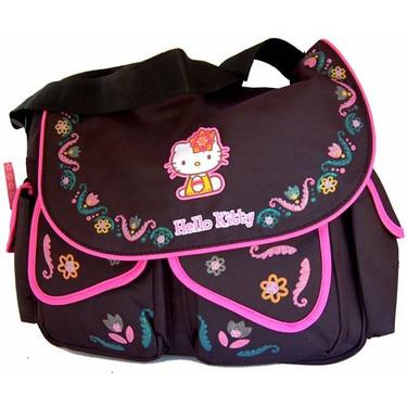 Hello Kitty Large Messenger Diaper Bag