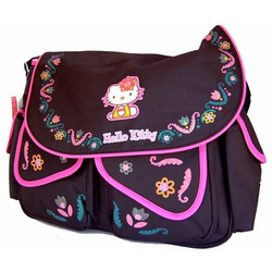 Hello Kitty Large Messenger Diaper Bag