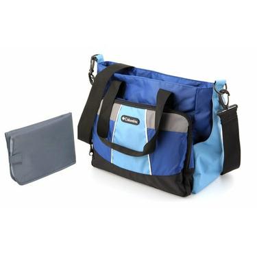 Columbia Bottom Line Diaper Bag, Blue