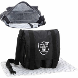 Concept One NFL Oakland Raiders Diaper Bag