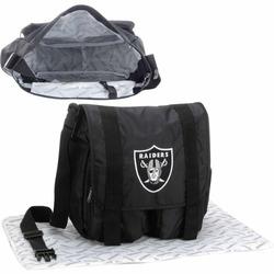 Concept One NFL Oakland Raiders Diaper Bag