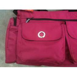 Skip Hop Spark Pockets Diaper Tote Bag Fuschia - 2 Insulated Side Pockets for Bottles