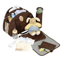 Lassig Shoulder Eco-Friendly Diaper Bag, Black