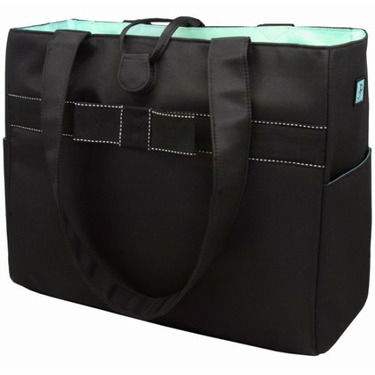 Tiffany Tote Set and Diaper Bag in Blue
