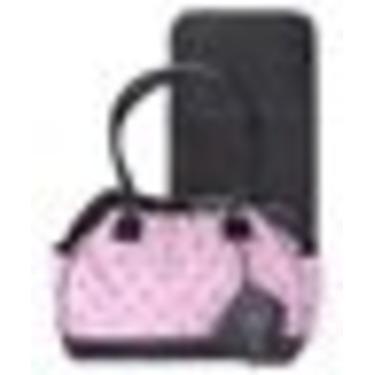 - Pink Embrdrd Diaper Bag w/Brag Book