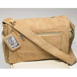 Sugarbooger Ultimate Diaper Bag Deluxe, Corduroy Sand