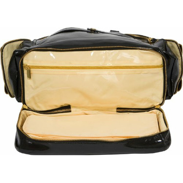 Honey The Queen Bee Diaper Bag, Black