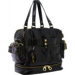 Honey The Queen Bee Diaper Bag, Black