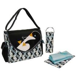 Kalencom Eleanor Diaper Bag - Black Penguin