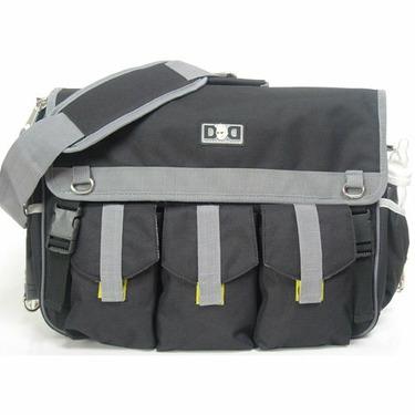 Diaper Dude Black Deluxe Bag