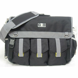 Diaper Dude Black Deluxe Bag
