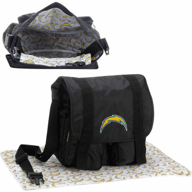 Concept One NFL San Diego Chargers Diaper Bag