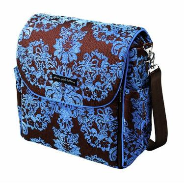 Petunia Pickle Bottom Boxy Backpack (Blueberry Acai)