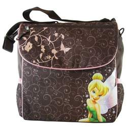 Tinkerbell Diaper Bag Backpack - Disney Fairy Tinker bell Adjustable Shoulder Bag