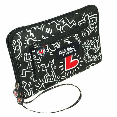 Bumkins Keith Haring Wallet, Graffiti