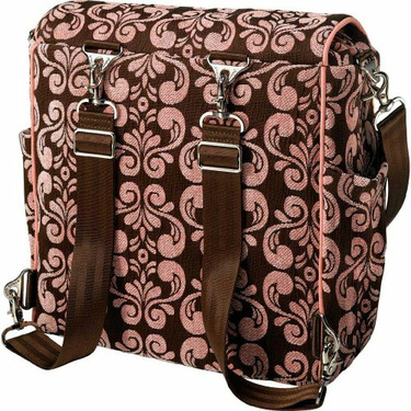 Petunia Pickle Bottom Boxy Diaper Bag Roseberry